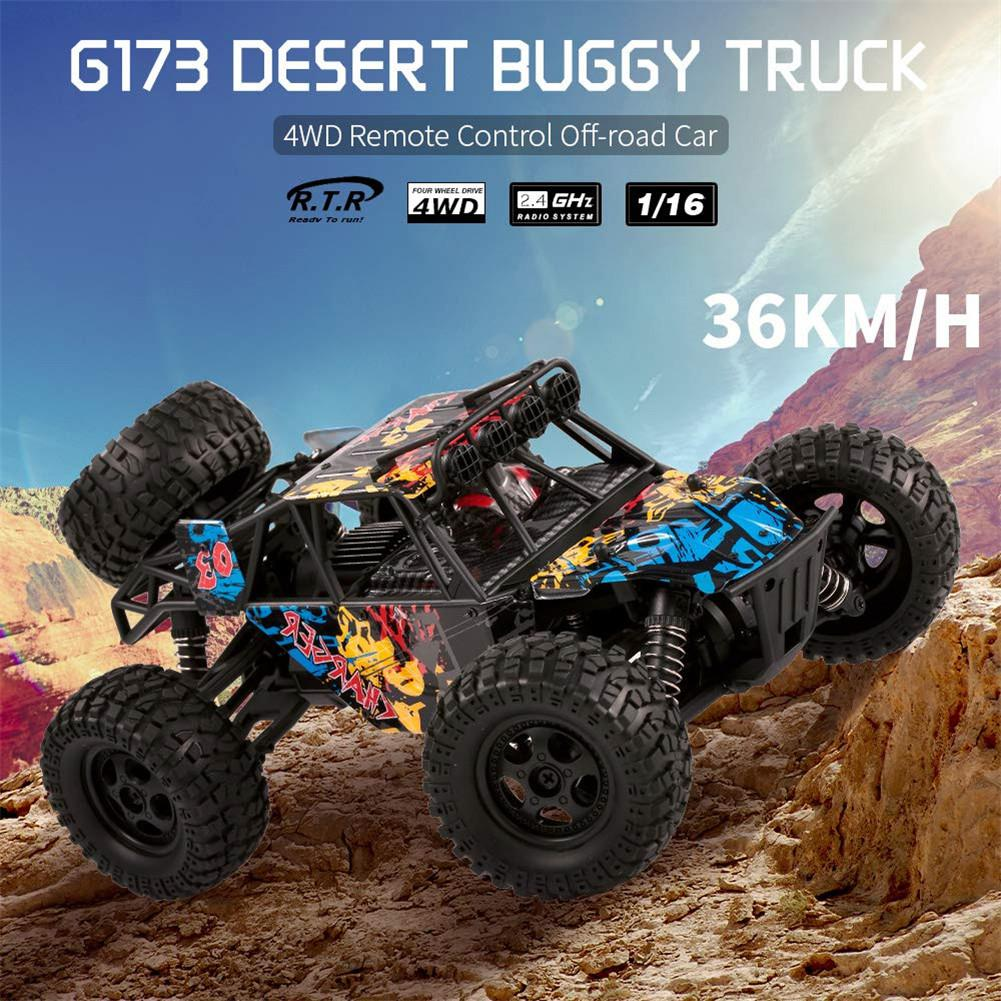 LeadingStar G173 1:16 2.4G Four-wheel Drive High Speed Remote Control Racing Car Toy for Kids BoysLeadingStar G173 1:16 2.4G Four-wheel Drive High Speed Remote Control Racing Car Toy for Kids Boys