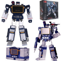 Children Robot Toy Transformation Robot Action Figure MP 13 Sound wave Robot Toys BEST Gift For Toy Education Child Toy Robot