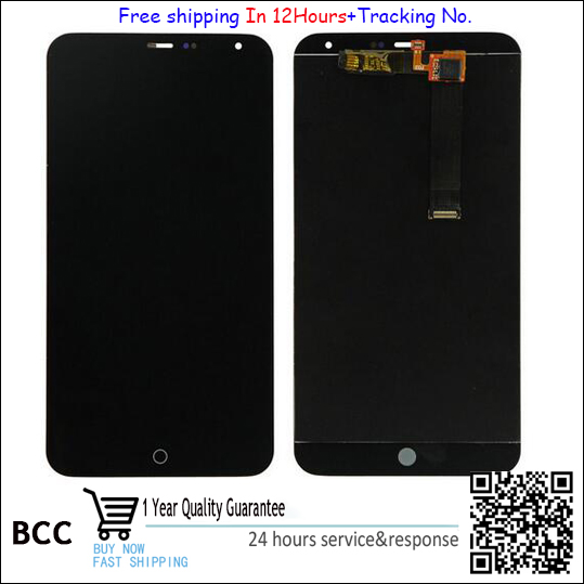 100% Quality LCD for Meizu MX4 LCD Display + Touch Screen Glass Digitizer MX4G Uni Assembly,free shipping+tracking No,Test ok