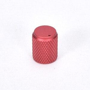 Image 4 - 5 шт. Диаметр: 12 мм высота: 15 мм алюминиевая вращаемая Кнопка потенциометра громкости черный/серебристый/красный/золотой