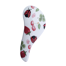 Magic Handle Detangling Handle Tangle Shower Hair Brush Comb Salon Styling Tamer Tool Red Strawberries