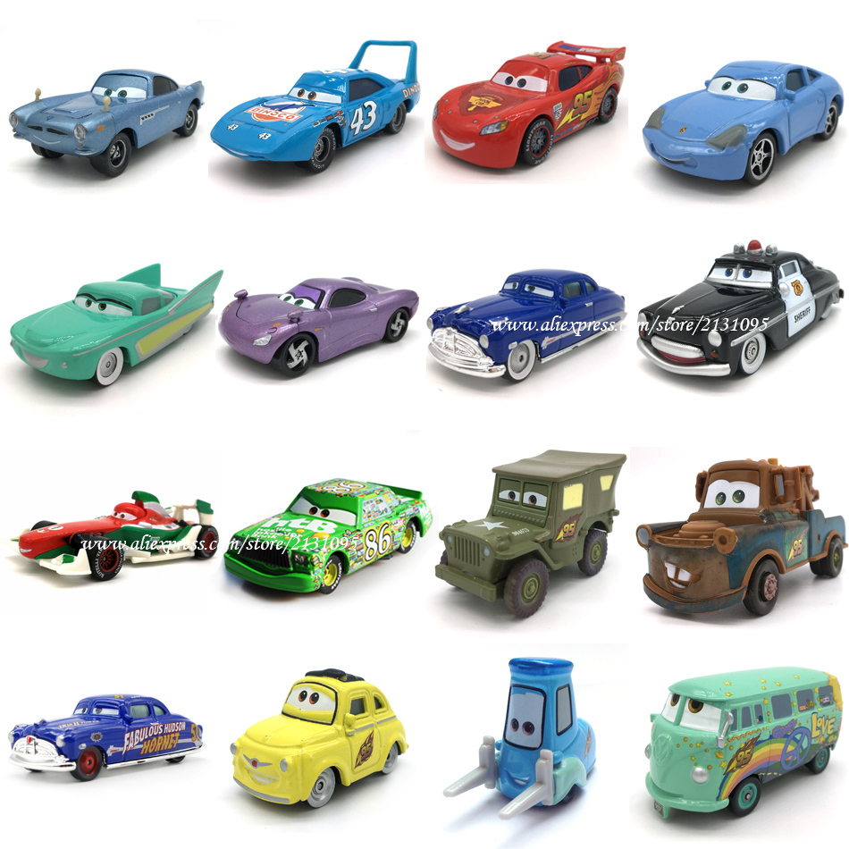 Disney Pixar Racing Cars 2 3 Toys Lightnig Mcqueen Mater Jackson Storm Ramirez 1 55 Diecast Metal Alloy Toy Model For Boys in Diecasts Toy Vehicles from Toys Hobbies