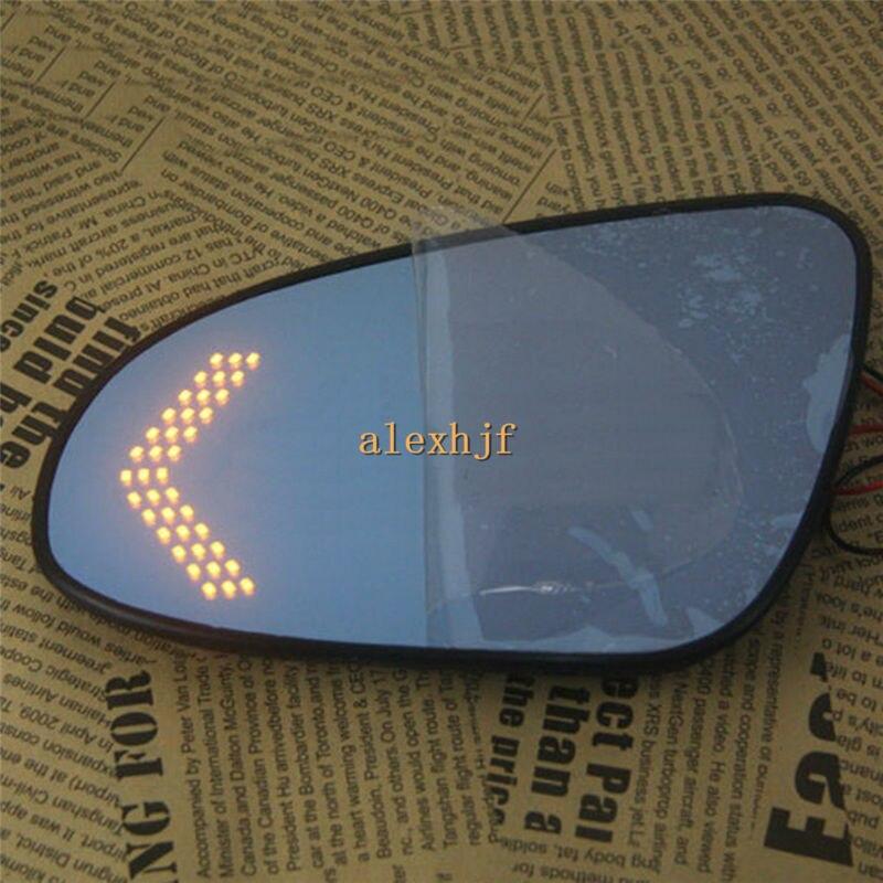 Varthion случае объектив зеркала заднего вида для Тойота Камри 7-го Аурион 2012-14, большое поле, голубое зеркало, включить свет, тепло, обдув