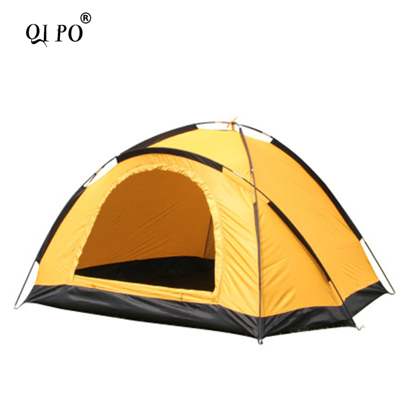 Outdoor Portable Single Layer Camping tent largeWigwam Camouflage 2 Person Waterproof Lightweight Beach Fishing Hunting Hot Sale outdoor 8 12 person tunnel big beach tent single layer portable large waterproof awning camping tente family free shipping zp98