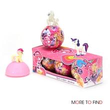 1/3/6 шт. куклы LOL с рисунком из мультфильма «Мой Маленький Пони» единорог Радуга для шар с сюрпризом фигурки животных игрушки Аниме для девочек подарок на день рождения