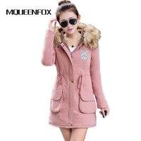 Womens Parka Casual Outwear Military Hooded Coat Winter Jacket Women Fur Coats Women S Winter Jackets