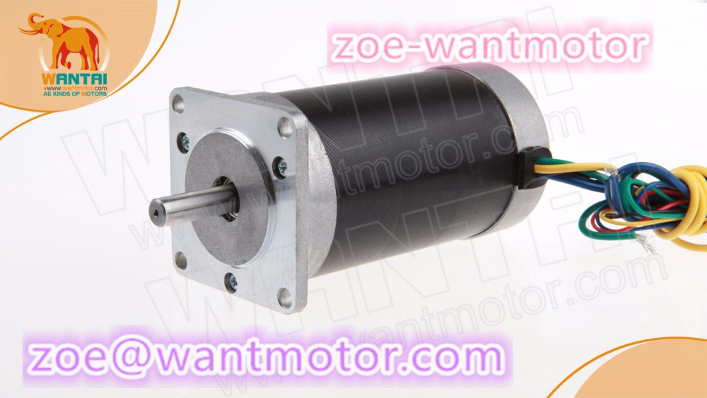 New listing!1pc Wantai Nema23 Brushless DC Motor 57BL02 24V 34W 3000RPM 2.3A 34W Router Milling Laser Plasma