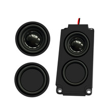 Audio Portable1PC Speakers 10045 LED TV Speaker 8 Ohm 5W Double Diaphragm Bass Computer Speaker DIY For Home Theater