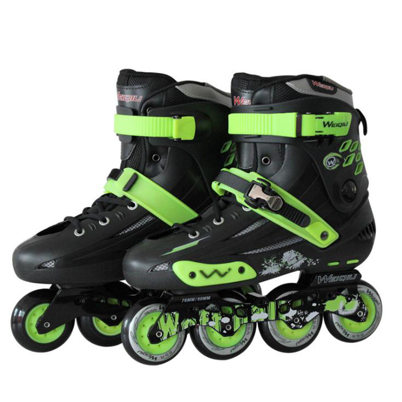 Professional Inline Skates Shoes 4 Wheels Adults Roller Skate Men Women Outdoor Freestyle Skating Patins skate 2015 patins patins adulto reniaever