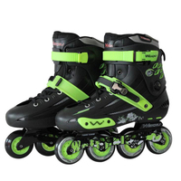 Professional Inline Skates Shoes 4 Wheels Adults Roller Skate Men Women Outdoor Freestyle Skating Patins