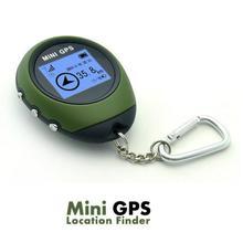 Мини ручной gps навигационный приемник Локация искатель USB Перезаряжаемый с электронным компасом для путешествий на открытом воздухе