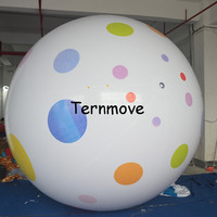 inflatable kinder easter egg ball PVC inflatable sky balloon egg shape balloons toys for easter outdoor decoration