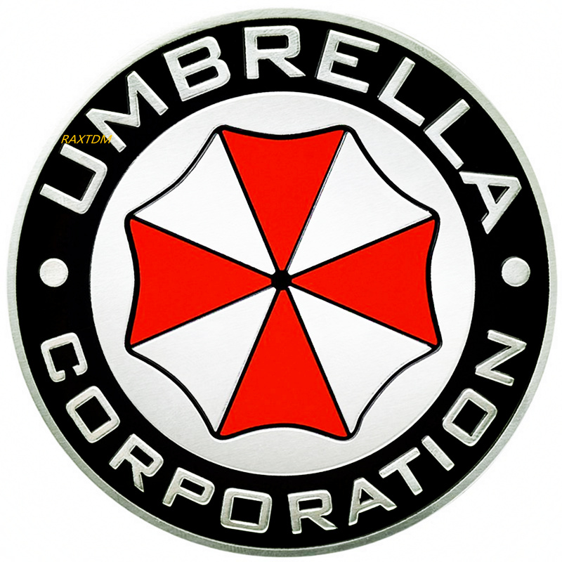 3D Aluminum Umbrella corporation car sticker For Mercedes Benz W211 W221 W220 W163 W164 W203 W204 C E SLK GLK CLS GL