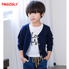 long sleeve cotton baby boys cardigan sweaters for boys kids causal knitted sweaters tops 2017 autumn children's clothes solid