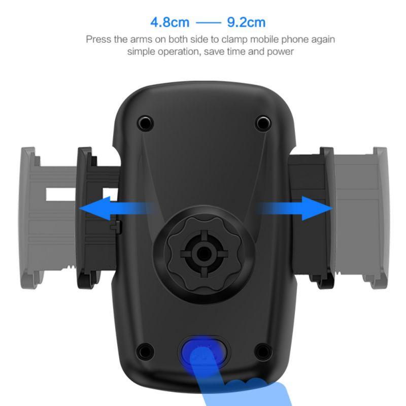 Eerlijk Universal Air Vent Mount Auto Houders Stand Een Klik Release Auto Mobiele Telefoon Houder Stands