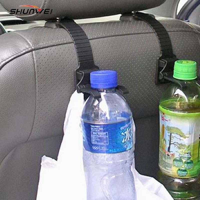 2pcs / lot מותג חדש רכב נייד אוטומטי מושב בארון מארגן מחזיק הוק משענת 2pcs