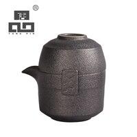 TANGPIN japanische keramik teekanne gaiwan teetassen tragbare reise tee sets-in Teegeschirr-Sets aus Heim und Garten bei