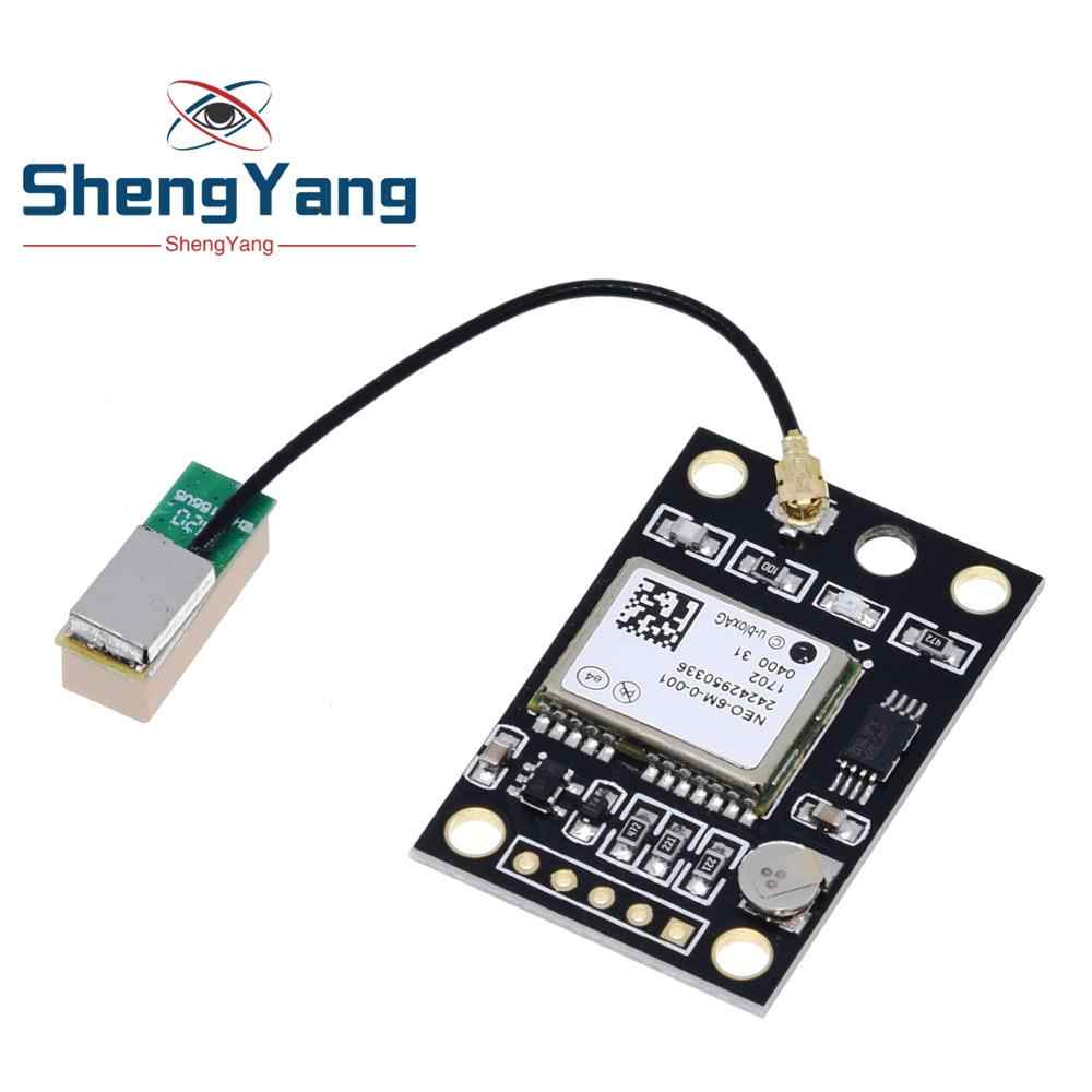 GY-NEO6MV2 NEO-6M GPS Module NEO6MV2 With Flight Control EEPROM Controller MWC APM2 APM2.5 Large Antenna For Arduino Board