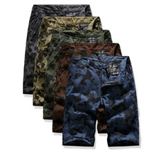 TANGNEST Summer Pants 2019 New Men's Multi-pocket Camouflage Pants Plus Size Thin Casual Beach Pants Male Board Shorts MKD1647(China)