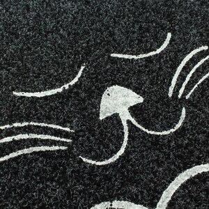 Коврик для двери в форме кошки, 38*58 см, нескользящий коврик для кухни, коврик для туалета, водопоглощающий коврик, нескользящий коврик для крыльца, CC-002
