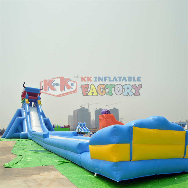 Inflatable Chinese Dragon Modeling Water Slide Water Floating Toy Children's Water Park Water Slide