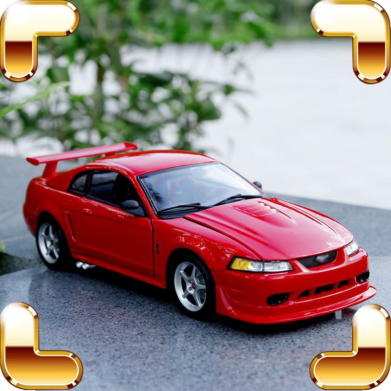 New Arrival Gift SVT 1/18 Metal Model Car Sport Roadster Vehicle House Decoration Fans Collection Metallic Men's Die-cast Toys стоимость