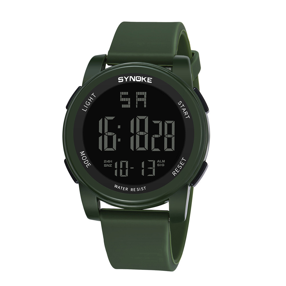 Men's Multi Function Military Sports Watch LED Digital Dual Movement Watch Men Male Large Dial Electronics Wristwatches