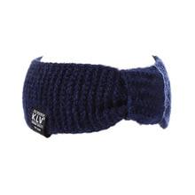 Winter Women Ear Warmer Bowknot Turban Knitted Hairband Headband Headwear Hair Band Accessories