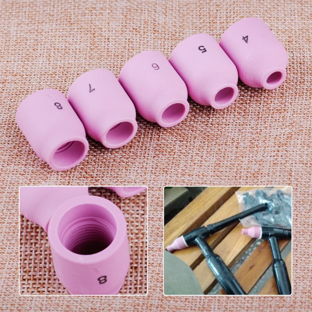LETAOSK Keramik Düse Gas Objektiv Cups Kit Fit Für WP-9 WP-20 WP-25 Serie Wig-schweißbrenner