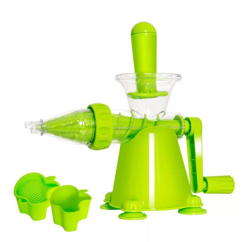 New Multifuctional Healthy Juicer Suction Base Juicer for Wheatgrass Fruit Vegetable Juice Maker Household Tool Portable image