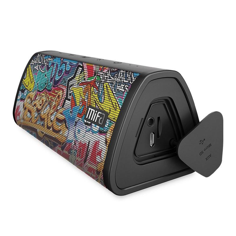 MIFA Portable Bluetooth Speaker Portable Nirkabel Loudspeaker Sound System 10 W Stereo Musik Surround Tahan Air Luar Ruangan Speaker