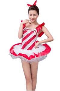 2018 Promotion Real Professional Ballet Costumes Dance Dress For Women Dancing Kids Gymnastics Leotard Justaucorps Dancewear
