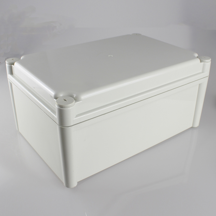 280*190*130MM IP67 Waterproof Plastic Electronic Project Box w/ Fix Hanger Plastic Waterproof Enclosure Box Housing Meter Box