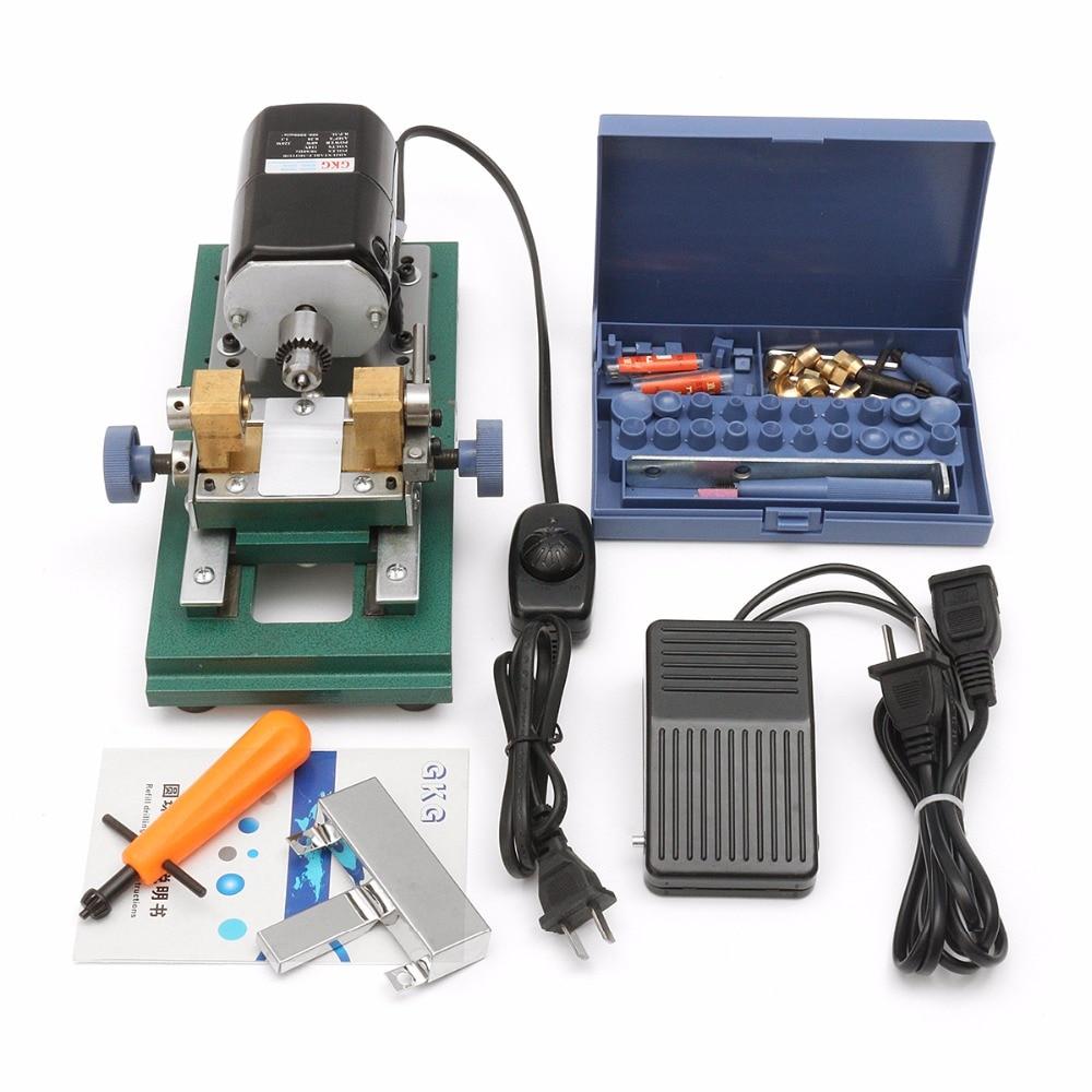 110V 220W DC 24V Mini Lathe Beads Machine Polish Woodworking DIY Tools Set cc01 mini lathe beads machine