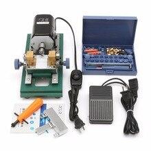 110V 220W DC 24V Mini Lathe Beads Machine Polish Woodworking DIY Tools Set