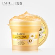 Facial Exfoliator Camomile Germany LAIKOU Face Cream Whitening Gel Skin Care Moisturize Cleanser Vitamin Collagen Exfoliating недорого