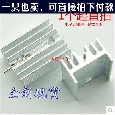 5Pcs TO3 Transistor Heat Sink TO-3 Black Amuminum 45X45X14MM wt