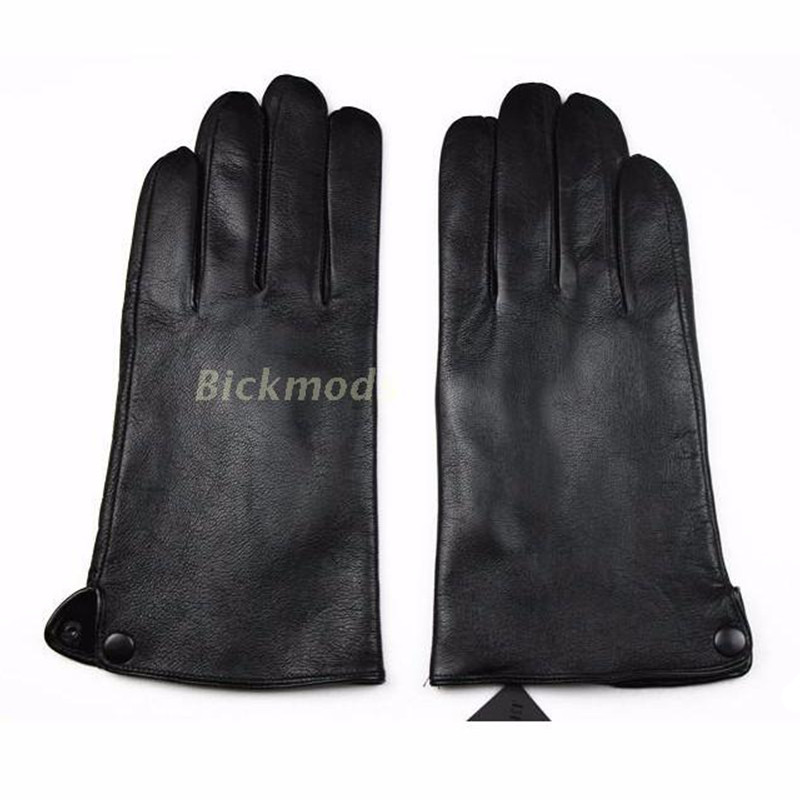 Leather Gloves Male Sheepskin Gs