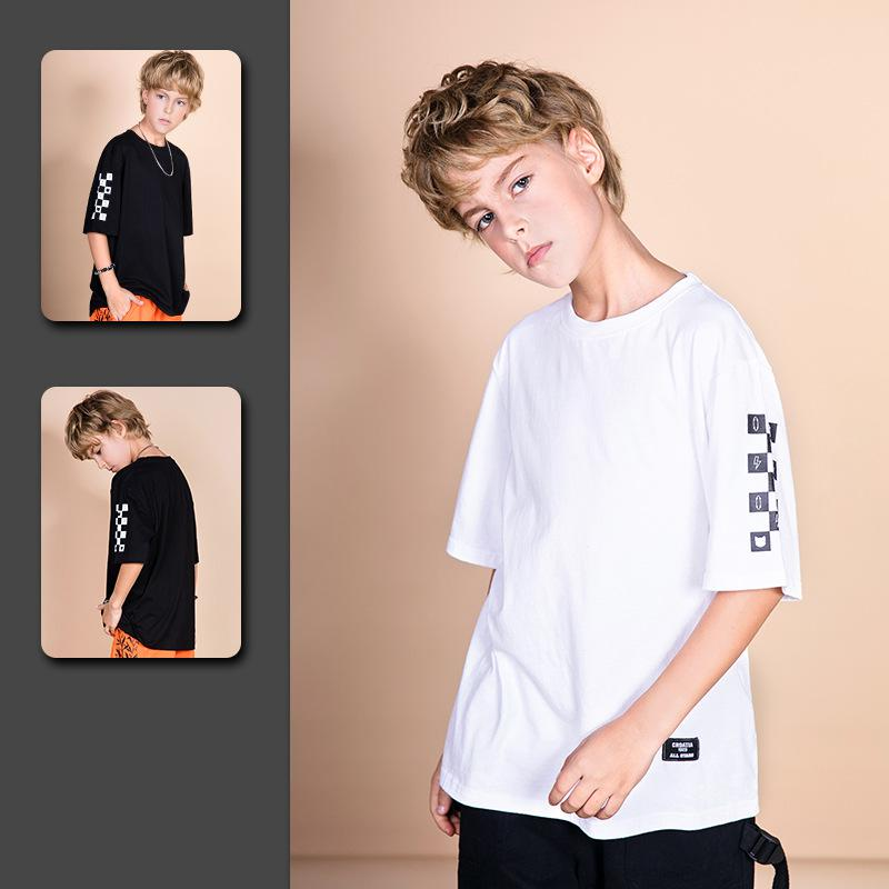 Kids Shirt Clothing Drop-Ship Summer Top Funny Children Boys for Tee Garcon Koszulka