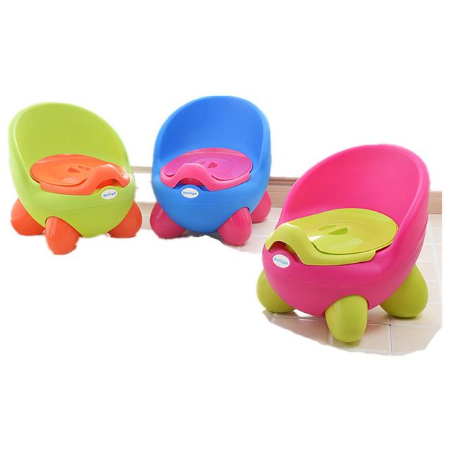 Muchachas del muchacho niños de esfínteres inodoro portátil Superior PP 0-6 años los niños asiento del inodoro