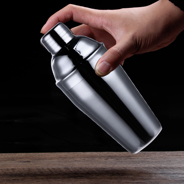 6Pcs Stainless Steel Cocktail Shaker 4