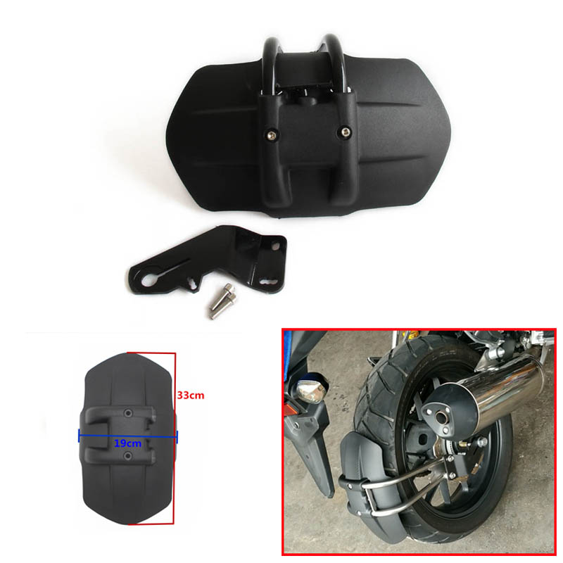 For Honda CB500F CB500X CNC Aluminum Motorcycle Accessories rear fender bracket motorbike mudguard Rear fender cnc aluminum rear wheel tire fender mudguard block for honda msx125 2013 2015 motorcycle rear fender