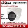 Dahua IPC HDW5231R ZE 2MP WDR IR גלגל העין 2.7mm ~ 13.5mm ממונע varifocal מובנה מיקרופון רשת מצלמה להחליף IPC HDW5831R ZE