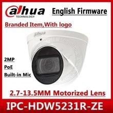 Dahua IPC HDW5231R ZE 2MP WDR IR Eyeball 2,7mm ~ 13,5mm varifocal motorizado integrado MIC red Cámara reemplazar IPC HDW5831R ZE