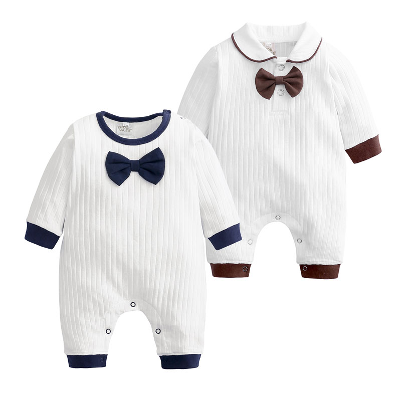 [0-24 Months] 100%Cotton Baby Boy   Romper   Spring Autumn Newborn Baby Girl Clothes Long Sleeve Toddler   Romper   Infant Onesies