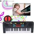 Nuevo 37 Teclas Digitales Regalo Regalo de Música para Teclado Electrónico Teclado de Piano Eléctrico teclado musical instrumento musical infantil