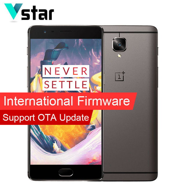 International Firmware Original 5.5 inch Oneplus 3T A3010 Dual 16.0MP Snapdragon 821 Quad Core 64GB Oxygen OS 6GB RAM Dual SIM