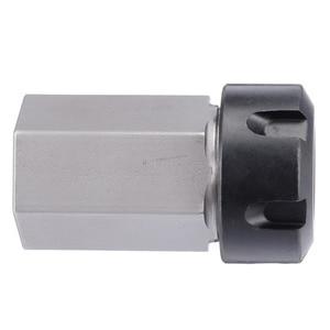 Image 5 - Hard Steel ER 25 Hex Collet Block Spring Chuck Collet Holder 35x65mm For 60/90/120 Degrees Engrave Machine