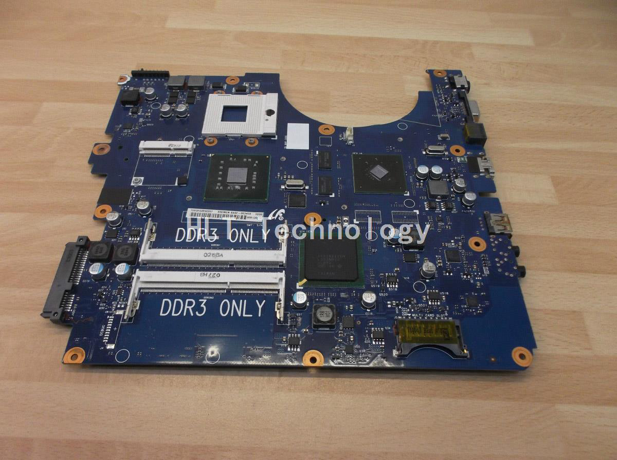 SHELI For Samsung R530 BREMEN-L3 Laptop Motherboard 4 Video memory integrated graphics card 100% fully tested цена