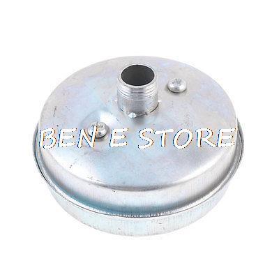 Nero Screw thread type ROSEBEAR 1//2 filo metallico compressore aria ingresso silenzioso filtro rumore 20 mm 1//2
